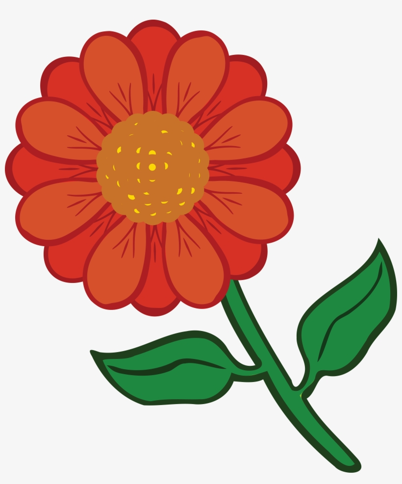 Free Clipart Of A Daisy Flower - Coloured Flower Printable - Free - Free Printable Clipart Of Flowers