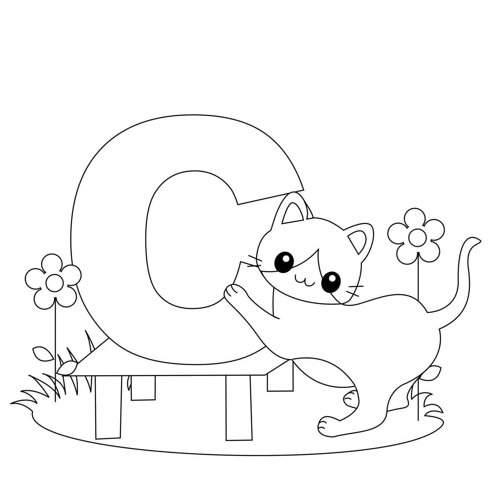 Free Coloring Pages Animal Alphabet Inspirationa Alphabet Coloring - Free Alphabet Coloring Printables