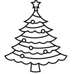 Free Coloring Pages Of Christmas Tree Templates | Xmas Pyrography   Free Printable Christmas Tree Template