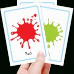 Free Colour Flashcards For Kids   Totcards   Free Printable Colour Flashcards