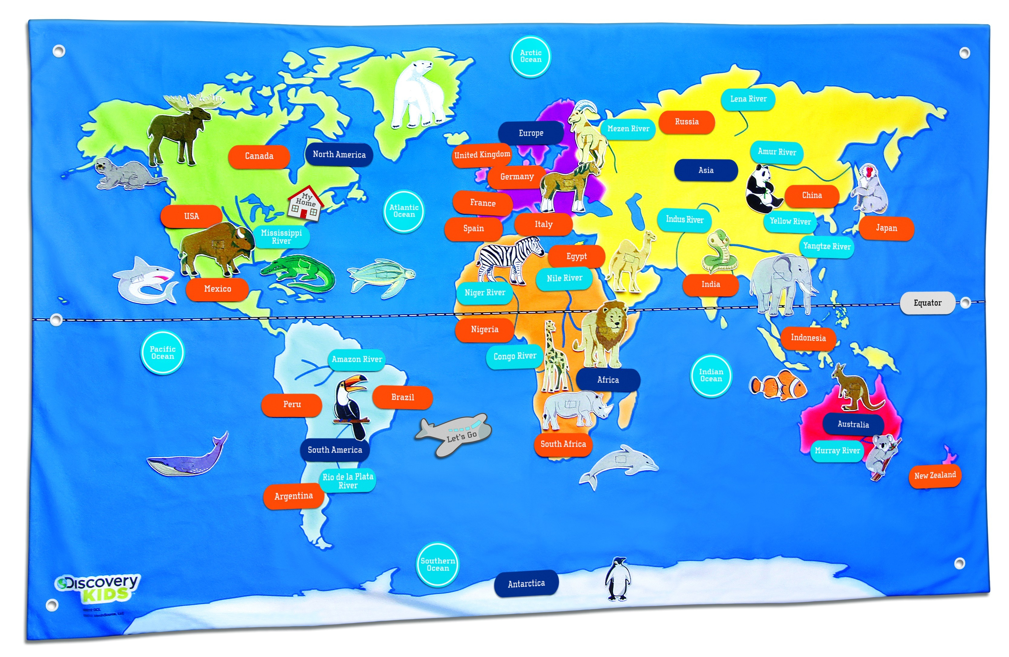 Free Country Maps For Kids A Ordable Printable World Map With - Free Printable Maps For Kids