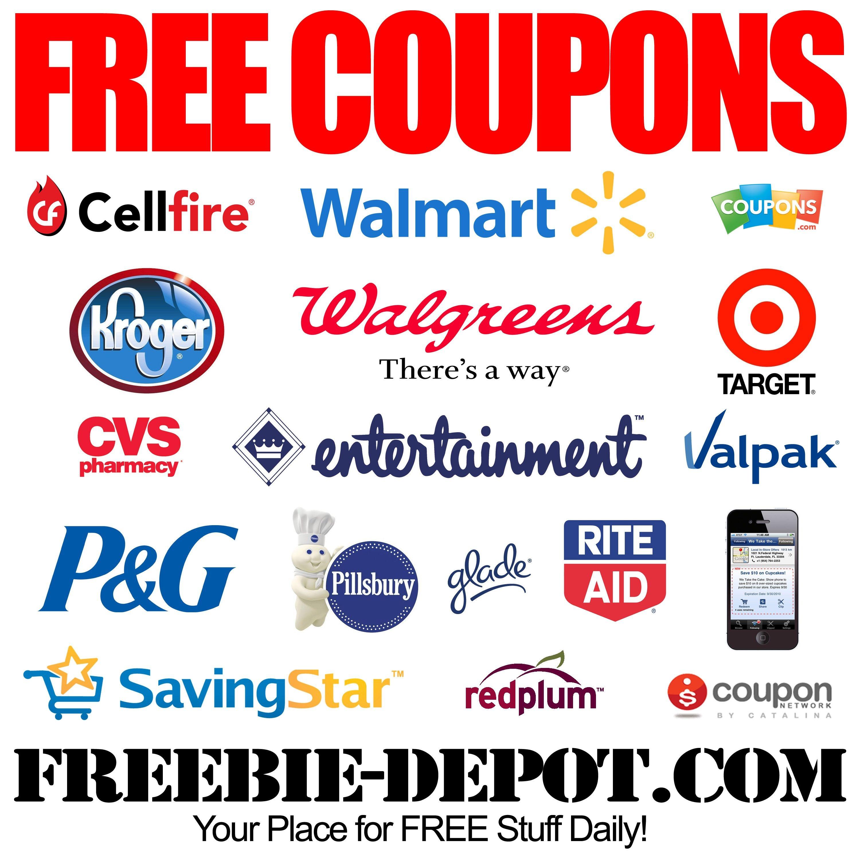 Free Coupons - Free Printable Coupons - Free Grocery Coupons - Free High Value Printable Coupons