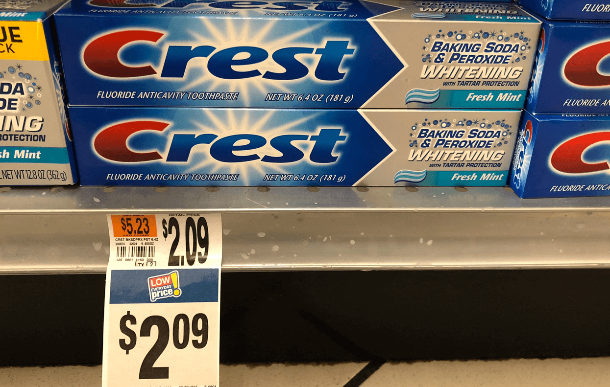 Free Crest Toothpaste At Stop & Shopliving Rich With Coupons® - Free Printable Crest Coupons