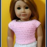 Free Crochet Pattern For 18 Inch Doll. Kimations: American Girl   Free Printable Crochet Doll Clothes Patterns For 18 Inch Dolls