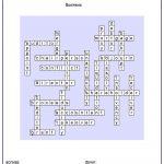Free Crossword Maker For Kids   The Puzzle Maker Site   Crossword Maker Free Printable