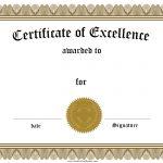 Free Customizable Certificate Of Achievement   Free Printable Certificates Of Accomplishment