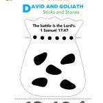 Free David & Goliath Preschool Bible Activity. Easy Kids Bible   Free Printable Children's Church Curriculum