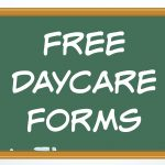 Free Daycare Forms And Sample Documents   Free Printable Daycare Forms For Parents