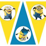 Free Despicable Me Party Printables, Birthday Party Theme, Free   Minion Party Ideas Free Printables