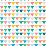 Free Digital Bunting Scrapbooking Paper   Ausdruckbares   Free Printable Paper
