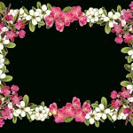 Free Digital Flower Frame Png In Vintage Design – Blumenrahmen   Free Printable Clipart Of Flowers