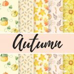 Free Digital Paper For Scrapbooking And More Projects! | Digital   Free Printable Fall Scrapbook Paper