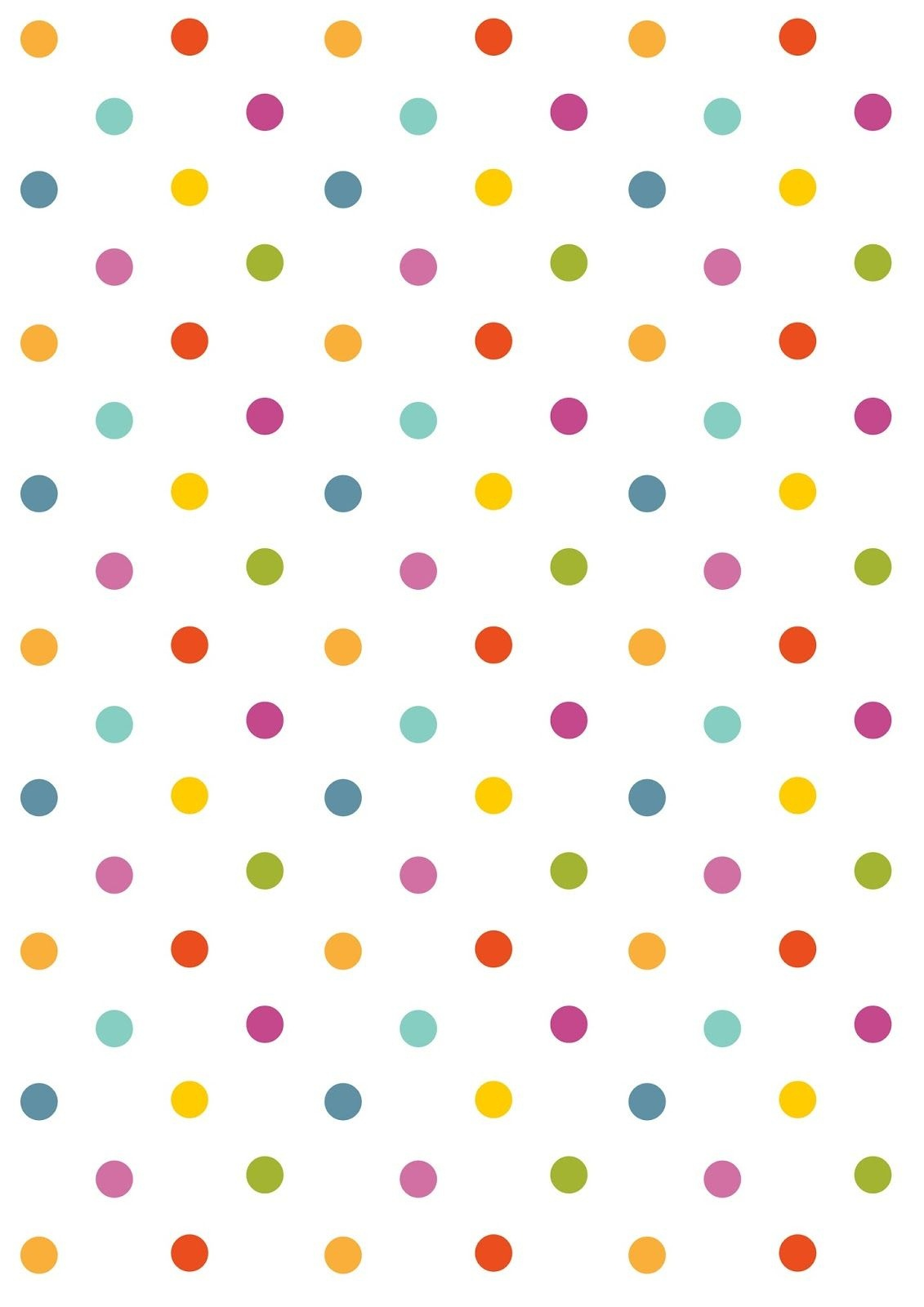 Free Digital Polka Dot Scrapbooking Paper - Ausdruckbares - Free Printable Pink Polka Dot Paper