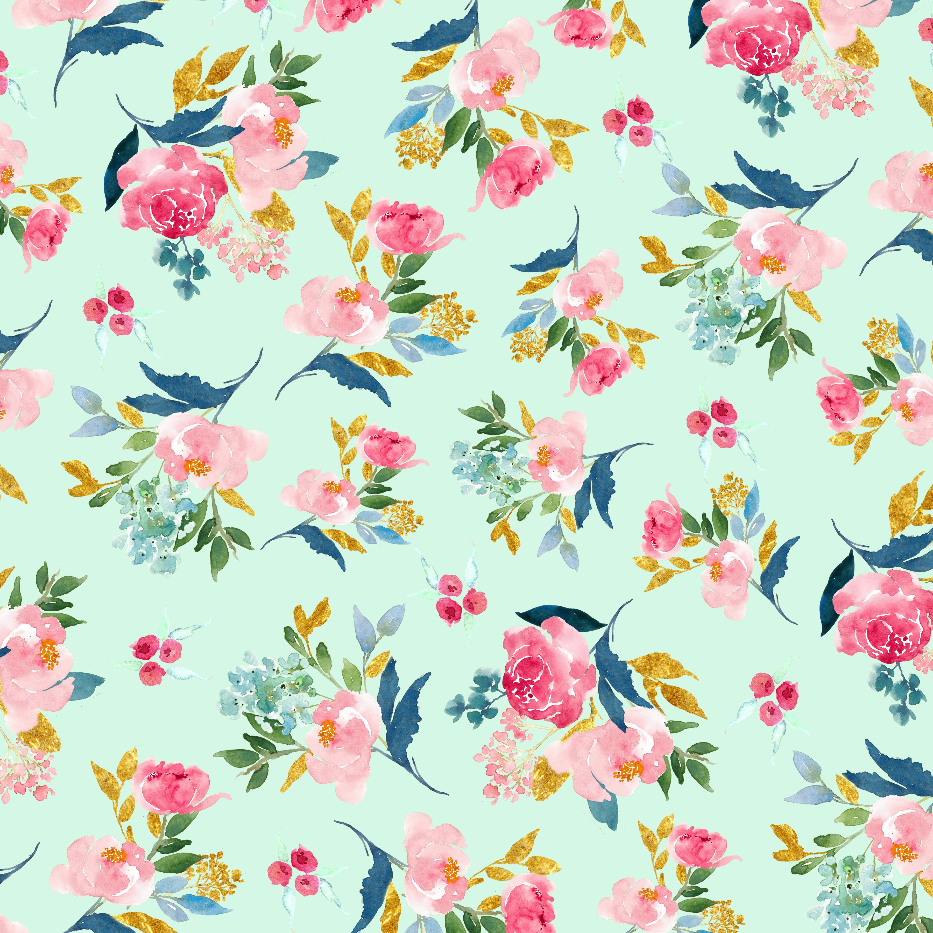 Free Digital Scrapbook Paper-Summer Love - Free Pretty Things For You - Free Printable Fall Scrapbook Paper