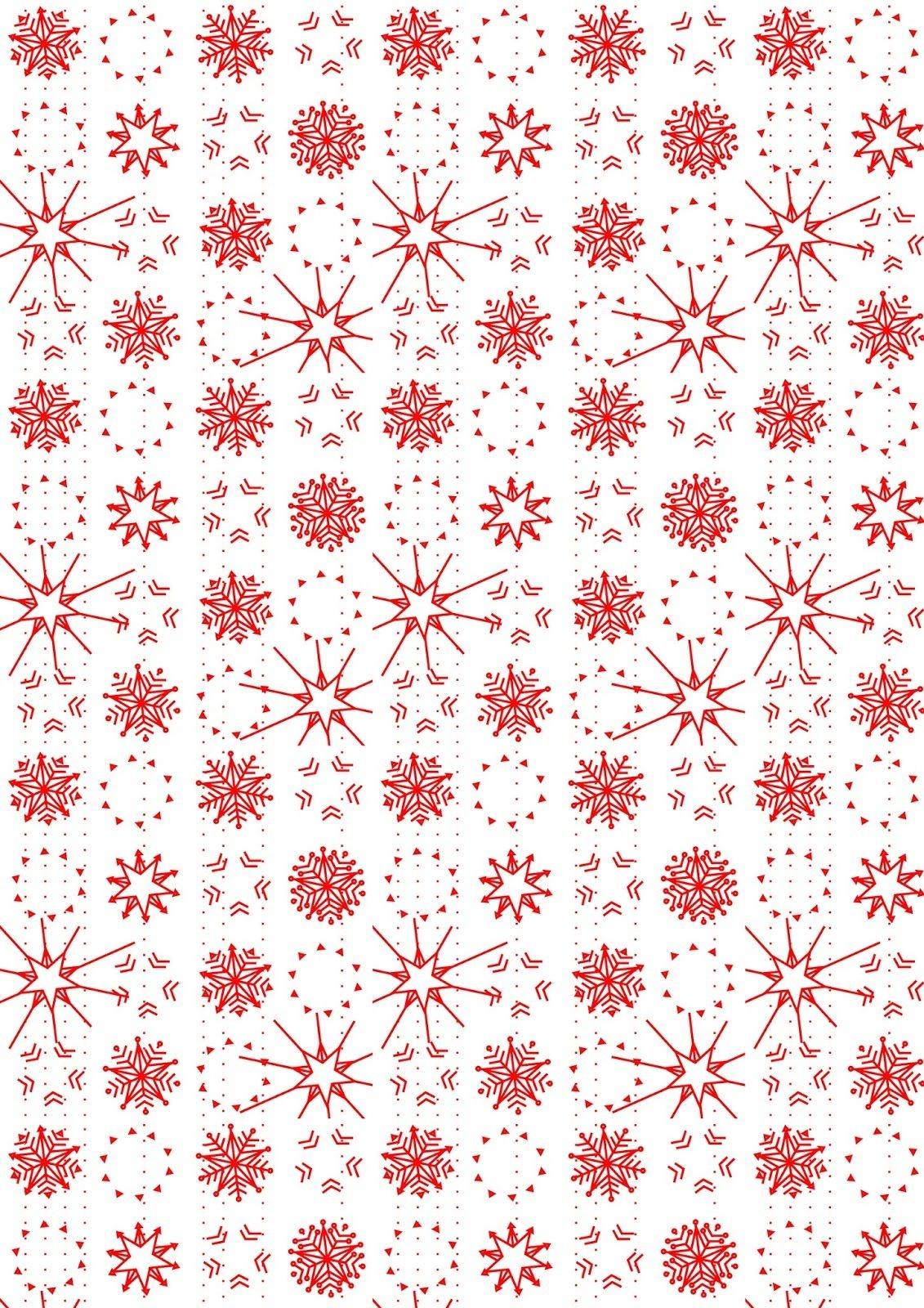 Free Digital Snowflake Scrapbooking Paper - Ausdruckbares - Free Printable Scrapbook Paper Christmas