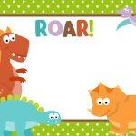 Free Dinosaur Birthday Invitations – Bagvania Free Printable   Free Printable Dinosaur Birthday Invitations
