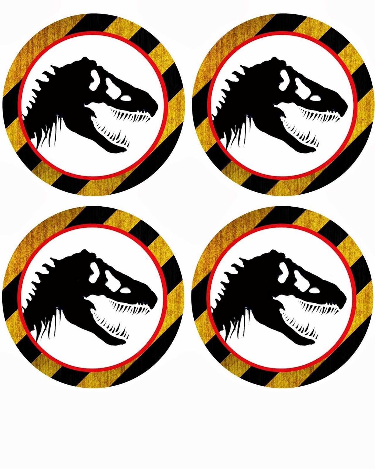 Free Dinosaur (Jurrasic Park) Party Printables - Jurassic World Free Printables