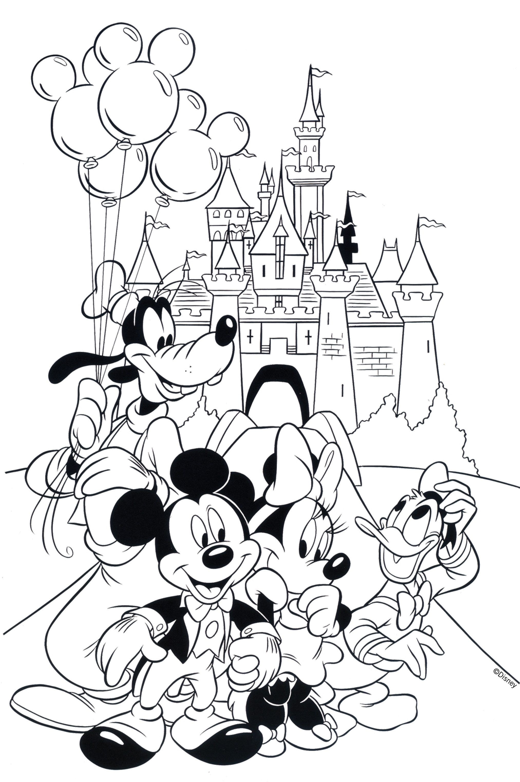 Free Disney Coloring Pages | Coloring Books | Disney Coloring Pages - Free Printable Disney Coloring Pages