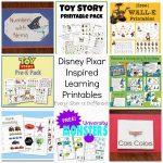 Free Disney Inspired Learning Printable Packs & Activities   Every   Free Disney Activity Printables