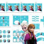 Free Disney's Frozen Printable   Baby Shower Ideas   Themes   Games   Free Frozen Printables