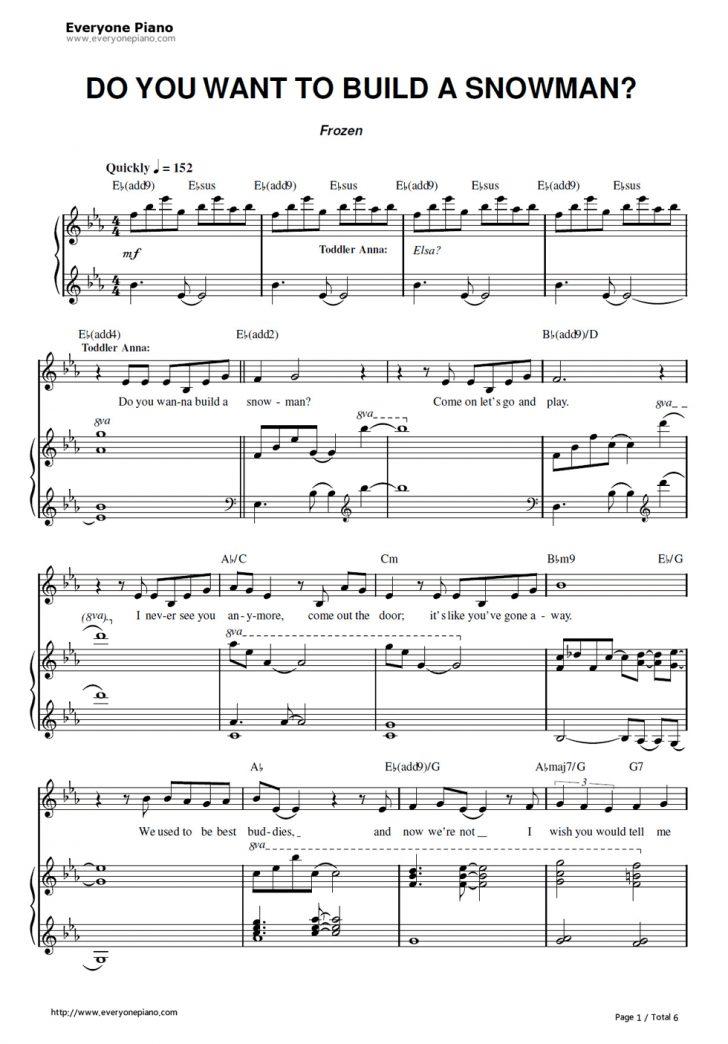 Let It Go Violin Sheet Music Free Printable