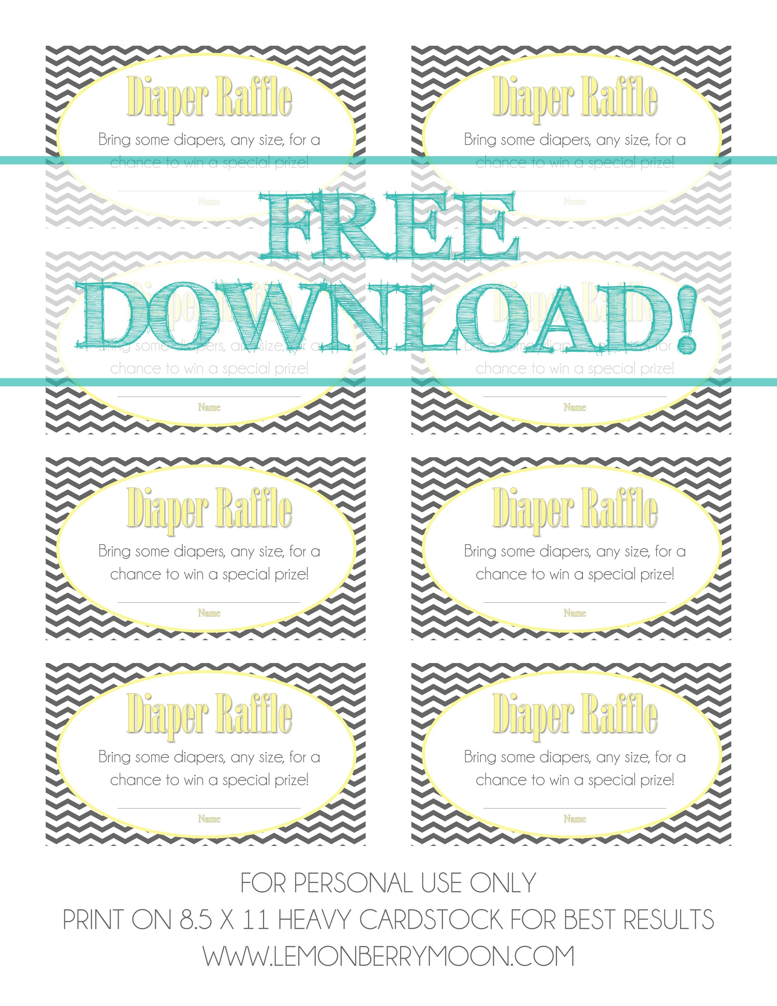 Free Download - Baby Diaper Raffle Template   Baaby Shower   Baby - Free Printable Diaper Raffle Tickets For Boy Baby Shower