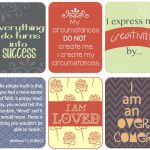 Free Download: Positive #affirmations Printable   Include Them With   Free Printable Positive Affirmation Cards