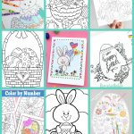 Free Easter Coloring Pages   Happiness Is Homemade   Easter Coloring Pages Free Printable