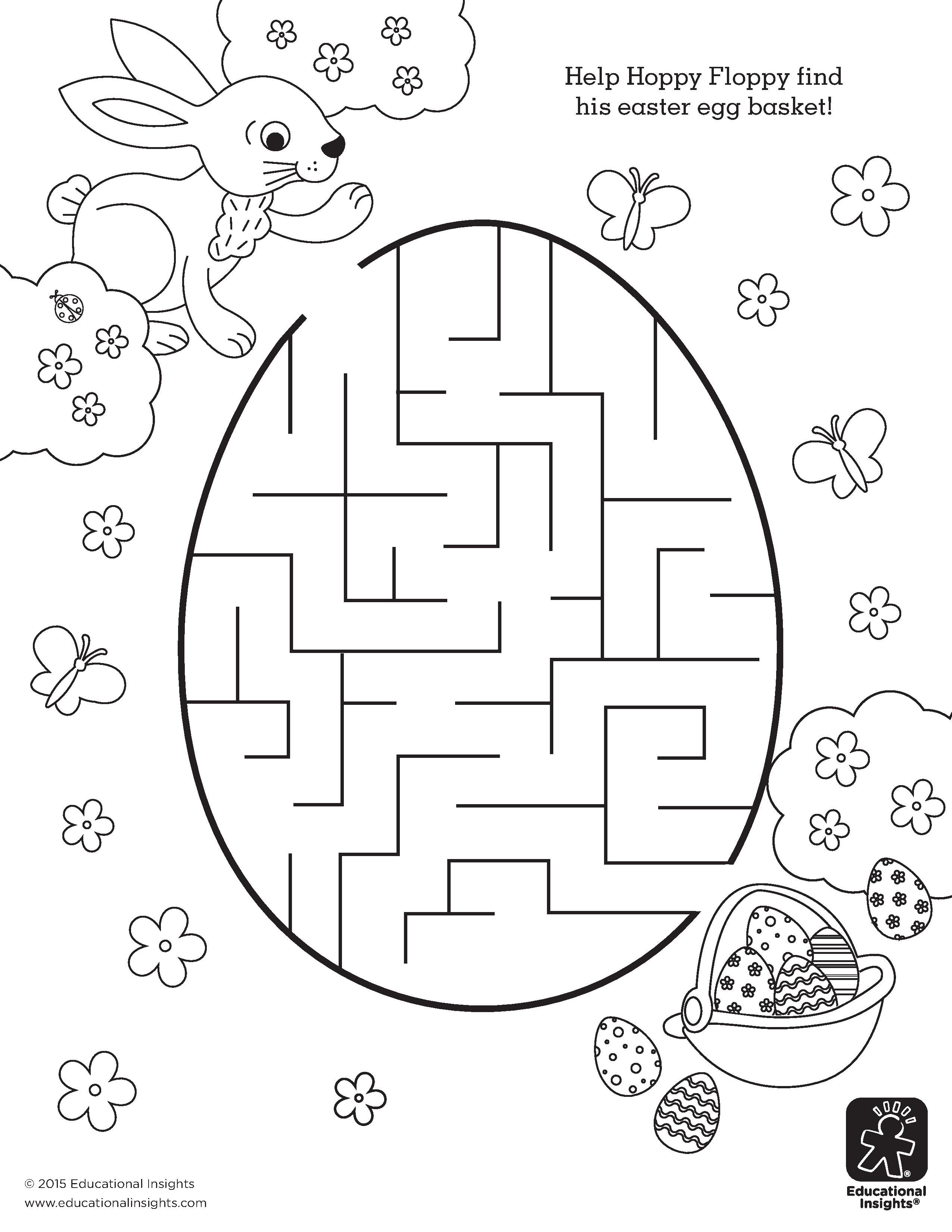 Free Easter Coloring Printables | Kid Stuff | Easter Colouring - Free Printable Easter Worksheets
