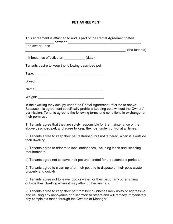Free Printable Michigan Residential Lease Agreement