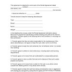 Free Easy Lease Agreement To Print | Free Printable Lease Agreement   Free Printable Rental Agreement