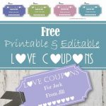 Free Editable Love Coupons For Him Or Her   Make Your Own Printable Coupons For Free