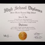 Free Fake High School Diploma Print Out   Tutlin.psstech.co   Free Printable Ged Certificate