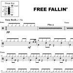 Free Fallin' – Tom Petty – Drum Sheet Music – Onlinedrummer   Free Printable Drum Sheet Music
