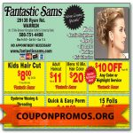Free Fantastic Sams Discount Coupons Printable For November December   Free Printable Coupons For Fantastic Sams
