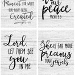 Free Farmhouse Scripture Printables   The Mountain View Cottage   Free Printable Bible Verses