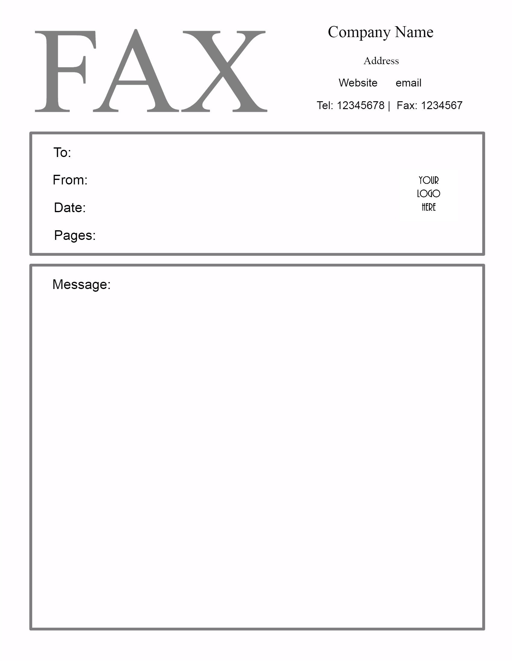 Free Fax Cover Sheet Template   Customize Online Then Print - Free Printable Cover Letter For Fax