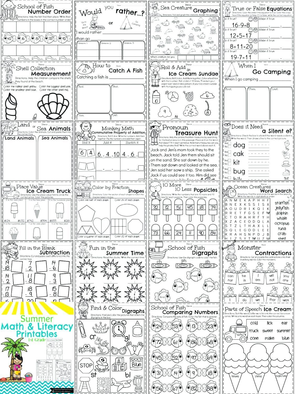 Free First Grade Fraction Worksheets Pictures - 1St Grade Math - Free Printable First Grade Fraction Worksheets