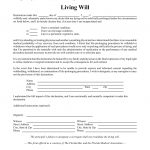 Free Florida Living Will Form   Pdf | Eforms – Free Fillable Forms   Free Printable Last Will And Testament Blank Forms Florida
