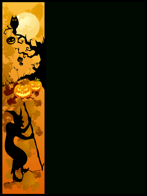 Free Free Halloween Borders, Download Free Clip Art, Free Clip Art - Free Printable Halloween Clipart Border