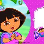 Free Free Printable Dora The Explore Birthday Invitation Template   Free Dora Party Printables