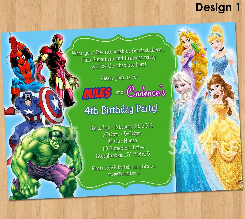 Free Free Printable Superhero Birthday Invitations   Bagvania - Free Printable Superhero Birthday Invitation Templates