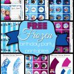 Free Frozen Birthday Party Printables   Free Frozen Printables