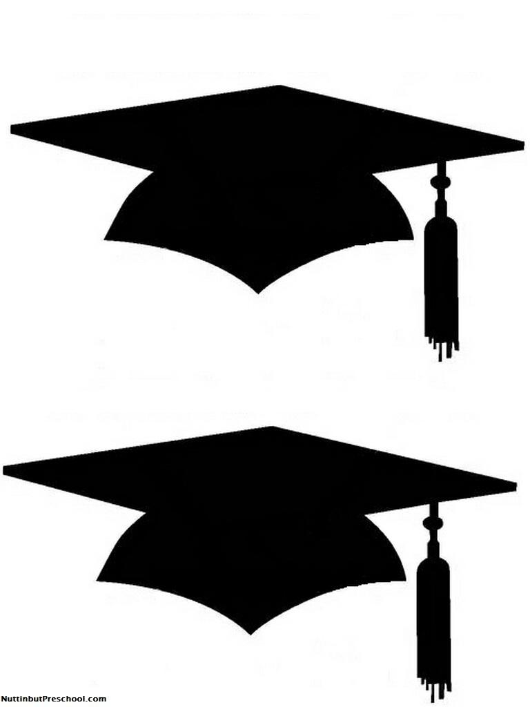 Free Graduate Hat, Download Free Clip Art, Free Clip Art On Clipart - Graduation Cap Template Free Printable