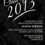 Free Graduation Invitation Templates 2014   Free Printable Graduation Invitations 2014