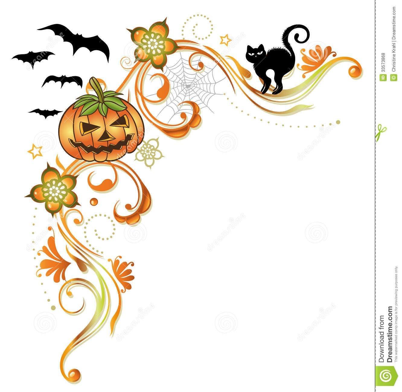 Free Halloween Clip Art Halloween Borders Pumpkins Halloween Border - Free Printable Halloween Clipart Border