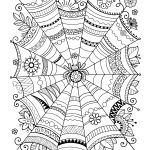 Free Halloween Coloring Pages For Adults & Kids   Happiness Is Homemade   Free Printable Coloring Cards For Adults