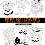 Free Halloween Printable Activity Sheets For Kids | Holidays   Free Printable Halloween Games For Kids