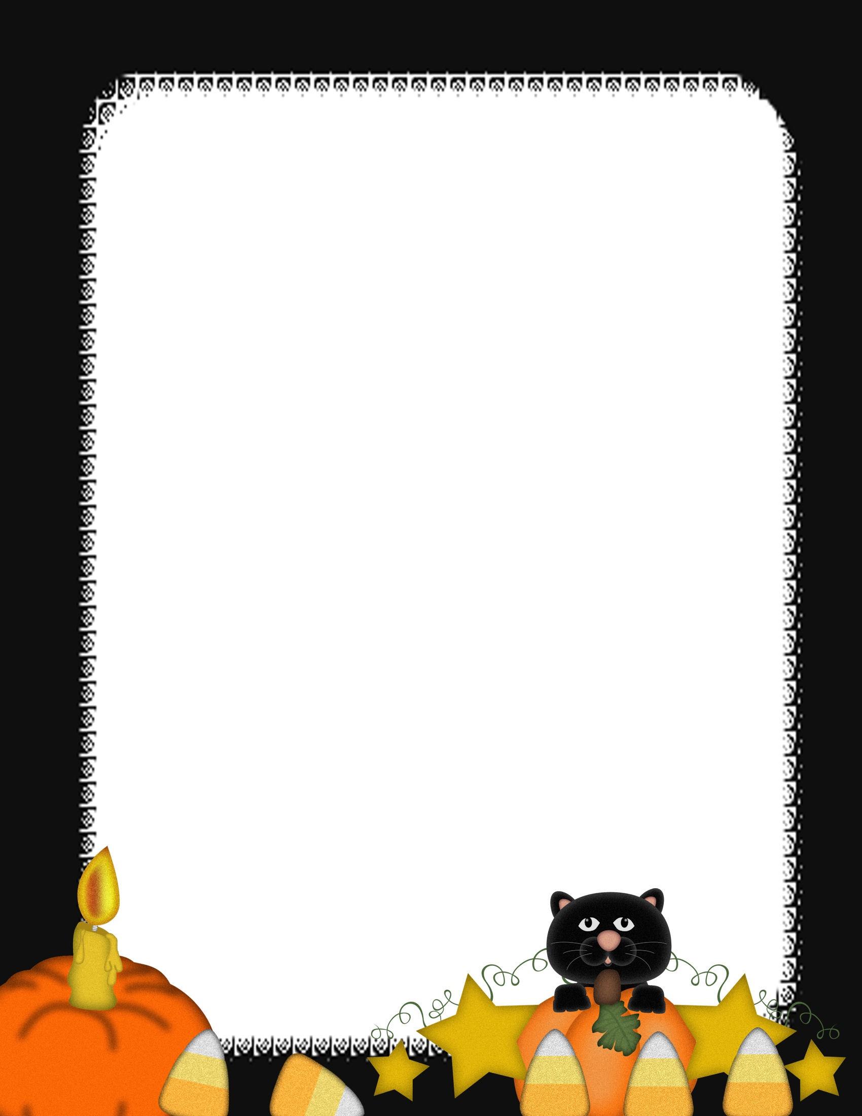 Free Halloween Stationery Templates - Tutlin.psstech.co - Free Printable Halloween Stationery