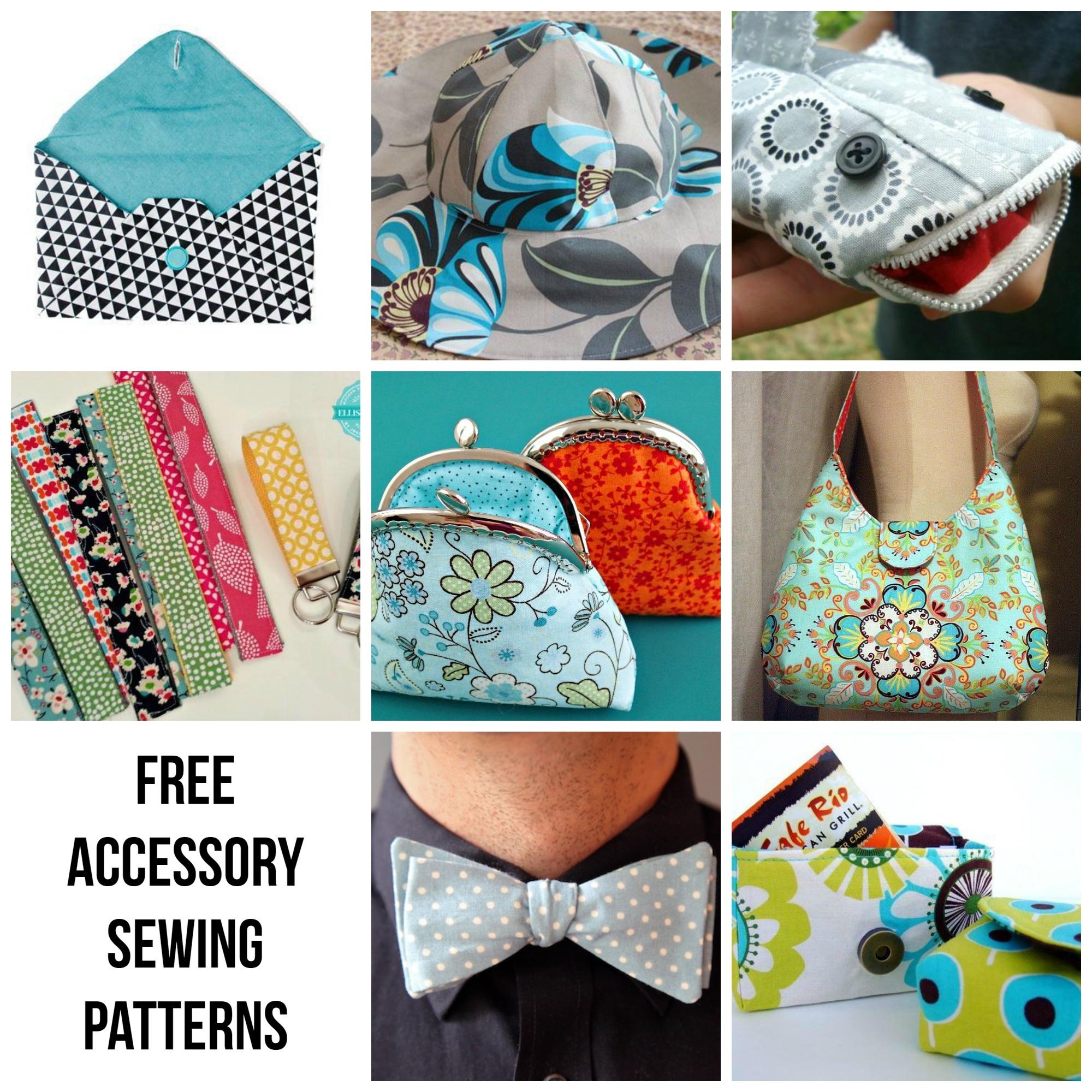 Free Handbag Patterns: Top 10 Purses To Sew - Free Printable Purse Patterns To Sew